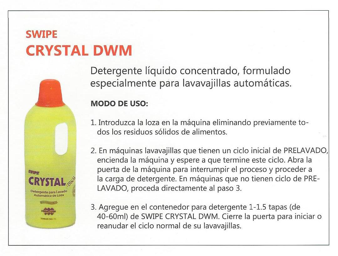 CRYSTAL DWM 1L – Grupo ATOM Swipe